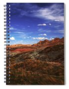 South Dakota Badlands Beautiful Afternoon Spiral Notebook