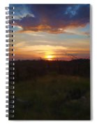 South Dakota Sunset 2 Spiral Notebook
