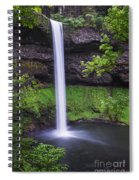 South Falls - Silver Falls State Park - Oregon Spiral Notebook