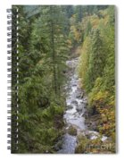 south fork Snoqualmie river Spiral Notebook