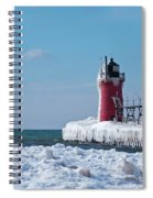 South Haven Ice Spiral Notebook