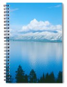 South Lake Tahoe In Winter, California Spiral Notebook