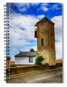 South Lookout Tower Aldeburgh Beach Spiral Notebook