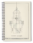 South Manitou Island Lighthouse Spiral Notebook