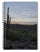 South Mountain Sunrise Spiral Notebook