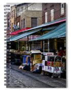 South Philly Italian Market Spiral Notebook