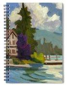 South Shore Big Bear Lake Spiral Notebook