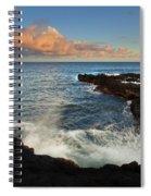 South Shore Spray Spiral Notebook