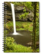 South Silver Falls 2 Spiral Notebook