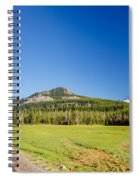 South Sister And Highway Spiral Notebook