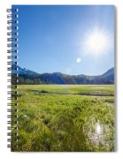 South Sister Wide Angle Spiral Notebook
