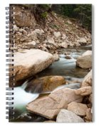South St Vrain Canyon Autumn View Spiral Notebook