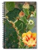 South Texas Prickly Pear Spiral Notebook