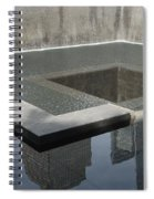 South Tower Pool Spiral Notebook