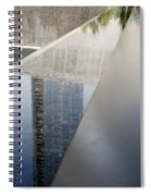 South Tower Reflections Spiral Notebook