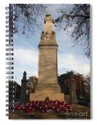 Southampton Cenotaph Hampshire Spiral Notebook