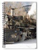 Southbound Through Rockwood Spiral Notebook