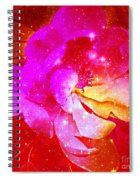 Southern Belle / Hot Pink Magnolia  Spiral Notebook