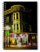 Southern California Streets At Sunset Spiral Notebook