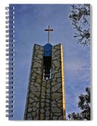 Southern California's Wafarers Chapel 1 Spiral Notebook