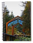 Southern California's Wafarers Chapel 3 Spiral Notebook