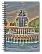 Southern Charm Pineapple Spiral Notebook