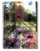 Southern Church In Bloom Spiral Notebook
