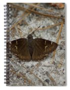 Southern Cloudywing Spiral Notebook