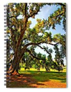 Southern Comfort Painted Spiral Notebook