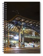 Southern Cross Rail Station In Melbourne Australia Spiral Notebook