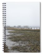 Southern Ebb And Flow Spiral Notebook