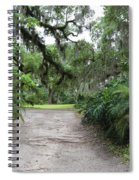 Southern Garden Welcome Spiral Notebook