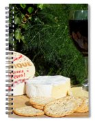 Southern Hemisphere Christmas Lunch Spiral Notebook