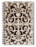 Southern Ironwork In Sepia Spiral Notebook
