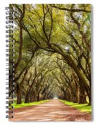 Southern Journey Paint Spiral Notebook