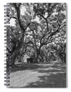 Southern Lane Monochrome Spiral Notebook