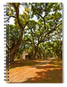 Southern Lane Paint Filter Spiral Notebook