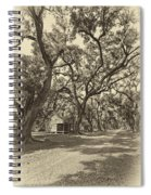 Southern Lane Sepia Spiral Notebook