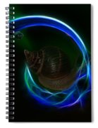Southern Northern Lights Spiral Notebook