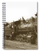 Southern Pacific Steam Locomotives No. 2847 2-8-0 1901 Spiral Notebook