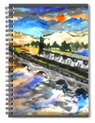 Southern River Dam					 Spiral Notebook