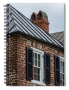 Southern Rooftops Spiral Notebook