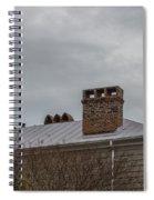 Southern Sky Line Spiral Notebook