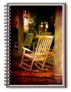 Southern Sunday Afternoon Spiral Notebook
