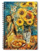 Southern Sunshine Spiral Notebook