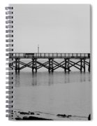 Southport Fishing Pier Spiral Notebook