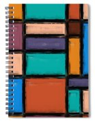 Southwest Home And Garden Color Block Spiral Notebook