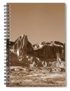 Southwest In Sepia  Spiral Notebook