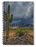 Southwest Monsoon Skies  Spiral Notebook