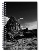 Southwestern Beauty In Black And White Spiral Notebook